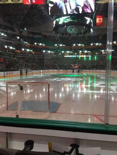 American Airlines Center, section: 112, row: C, seat: 11
