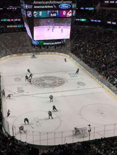 American Airlines Center, section: 319, row: G, seat: 14