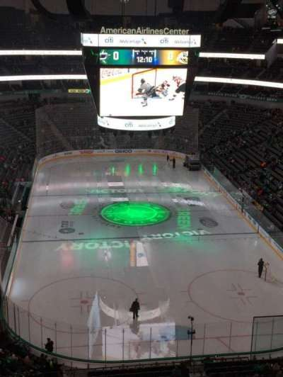 American Airlines Center, section: 319, row: D, seat: 3