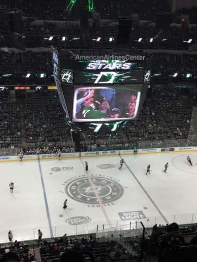 American Airlines Center, section: 311, row: L, seat: 14