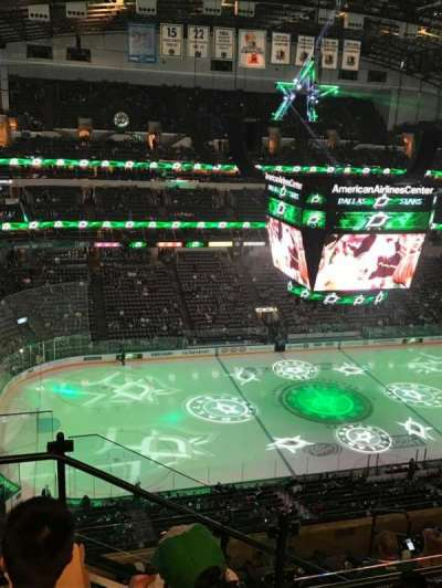 American Airlines Center, section: 312, row: J, seat: 19