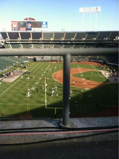 Oakland Alameda Coliseum, section: 328, row: 1, seat: 15