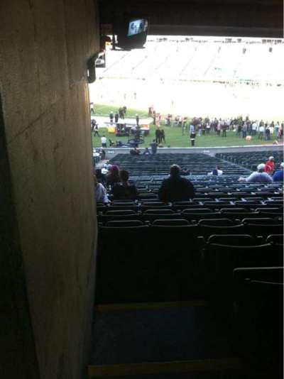 Oakland Alameda Coliseum, section: 113, row: 38, seat: 1