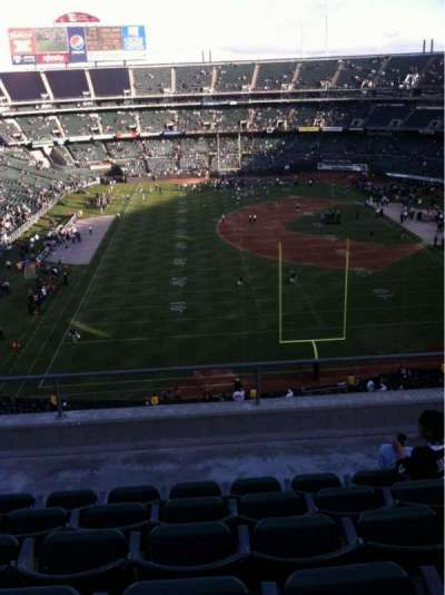 Oakland Alameda Coliseum, section: 329, row: 6, seat: 15