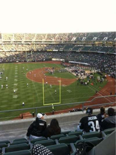 Oakland Alameda Coliseum section 329