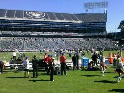 Oakland Alameda Coliseum section 128