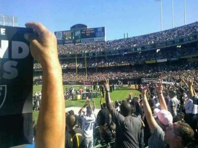 Oakland Alameda Coliseum section 128
