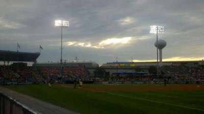 FirstEnergy Stadium (Reading), section: Blue 1, row: 1, seat: 6