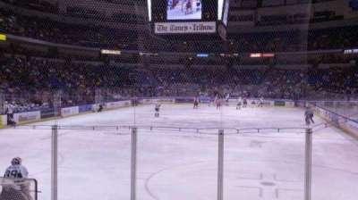 Mohegan Sun Arena at Casey Plaza, section: 122, row: h, seat: 13