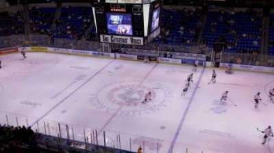 Mohegan Sun Arena at Casey Plaza, section: 326, row: 3, seat: 3
