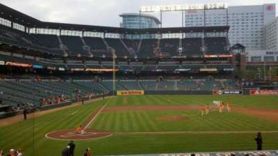 Oriole Park at Camden Yards, section: 26, row: 21, seat: 10