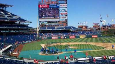 Citizens Bank Park, section: 120, row: 34, seat: 12