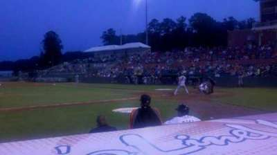 Arthur W. Perdue Stadium, section: 111, row: 4, seat: 8