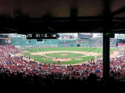 Fenway Park, section: Grandstand 20, row: 16, seat: 14