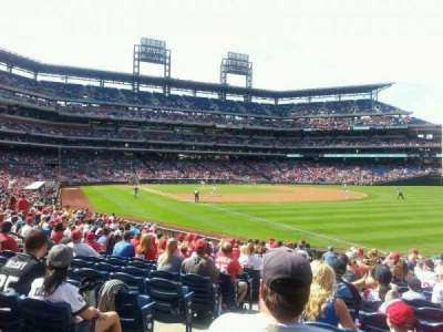Citizens Bank Park section 109