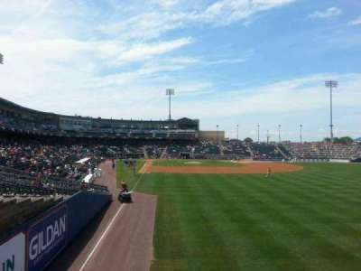 Coca-Cola Park, section: bacon, row: 1, seat: 4