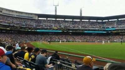 PNC Park, section: 1, row: f, seat: 11