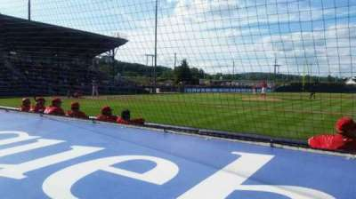 BB&T Ballpark at Historic Bowman Field, section: s, row: f, seat: 5