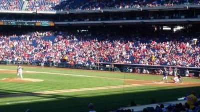 Citizens Bank Park, section: 134, row: 24, seat: 1