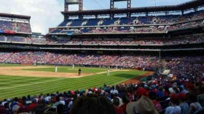 Citizens Bank Park, section: 137, row: 20, seat: 4