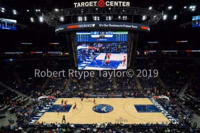 Target Center section 211
