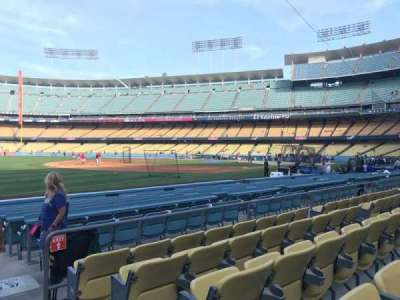 Dodger Stadium, section: 39FD, row: E, seat: 1