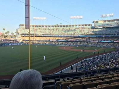 Dodger Stadium, section: 163LG, row: G, seat: 1