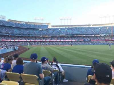 Dodger Stadium, section: 52FD, row: E, seat: 1