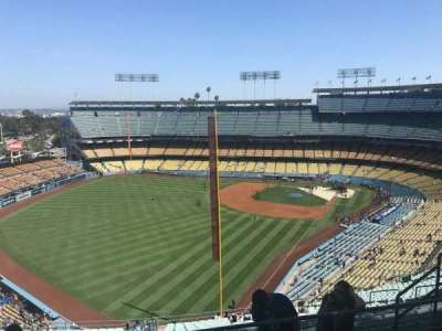 Dodger Stadium, section: 57RS, row: EE, seat: 10