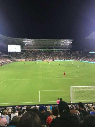 Banc of California Stadium, section: 123, row: R, seat: 3