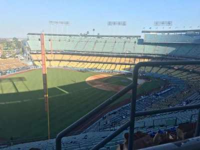 Dodger Stadium, section: 53RS, row: AA, seat: 2