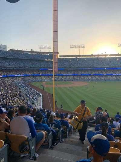 Dodger Stadium, section: 168LG, row: O, seat: 1