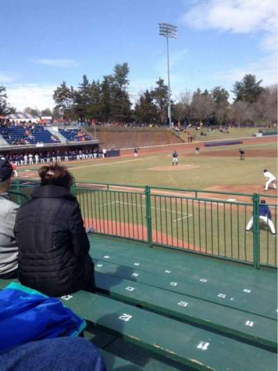 Davenport Field, section: E, row: 6
