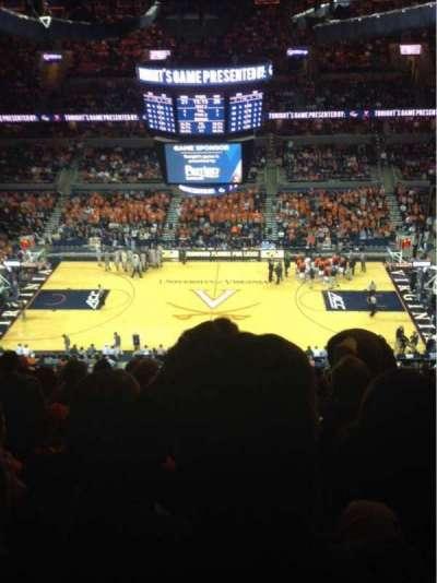John Paul Jones Arena, section: 313, row: T