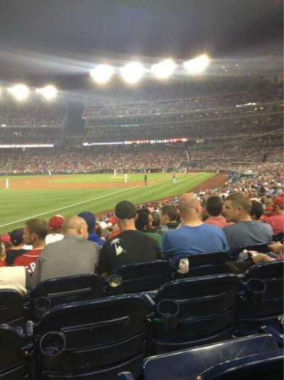 Nationals Park, section: 109