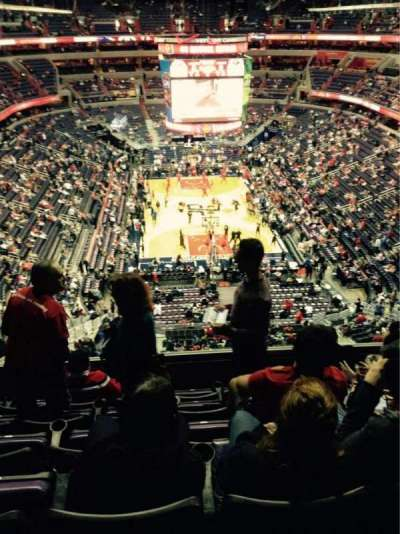 Verizon Center, section: 425