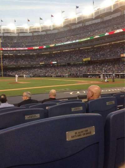 Yankee Stadium, section: 024B, row: 5, seat: 3