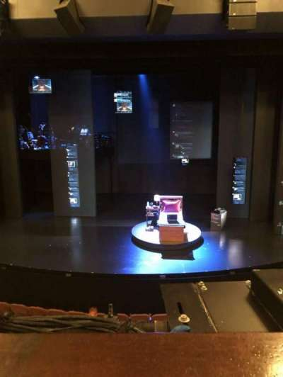Music Box Theatre, section: MEZZC, row: A, seat: 106