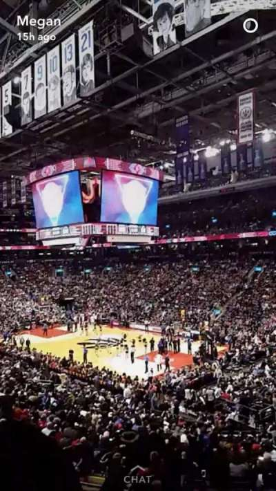 Air Canada Centre, section: 105, row: 28, seat: 24