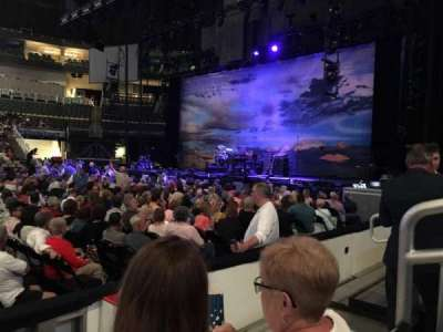 PPG Paints Arena, section: 101, row: C, seat: 8