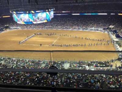 NRG Stadium, section: 531, row: G, seat: 3