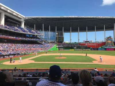 Marlins Park, section: 9, row: 4, seat: 16