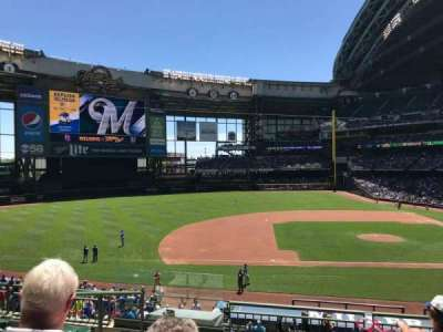 Miller Park, section: 224, row: 6, seat: 21