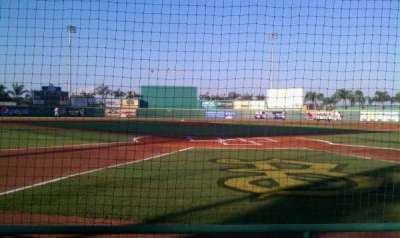 McKechnie Field, section: Box 1, row: 3, seat: 5