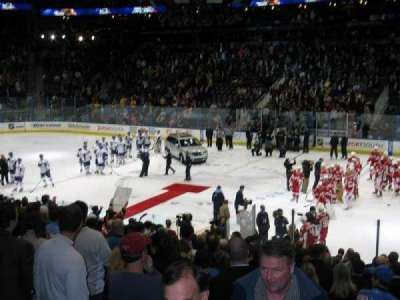 Philips Arena, section: 113, row: U, seat: 17
