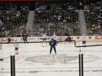 Canadian Tire Centre, section: 111, row: K, seat: 8