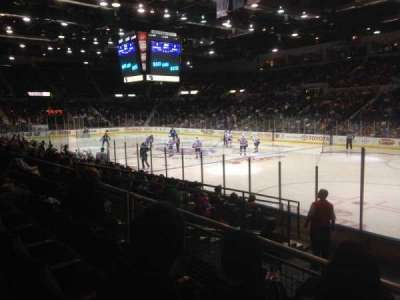 Blue Cross Arena, section: 127, row: K, seat: 1