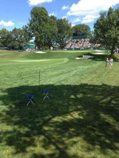 Oak Hill Country Club section 18th Hole