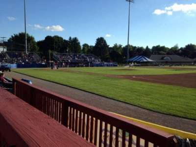 Dwyer Stadium, section: Patio, row: 1, seat: 1
