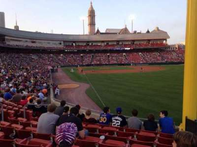 Coca-Cola Field, section: 128, row: S